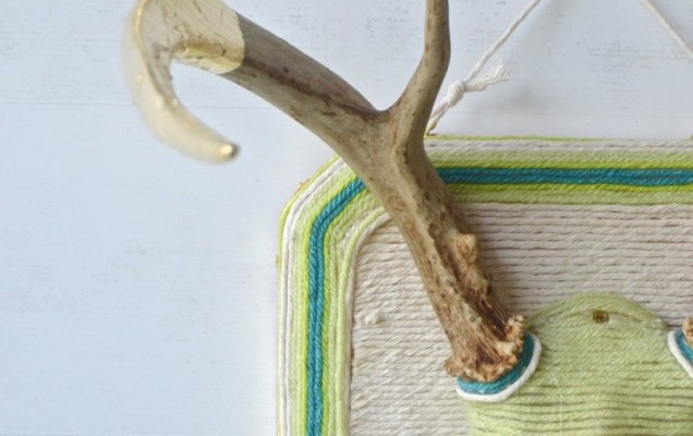 Home Decor Projects: Accessorized Antlers