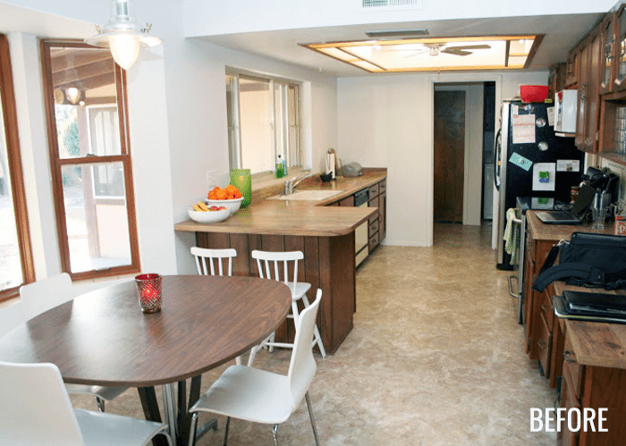Bettijo's Kitchen Before