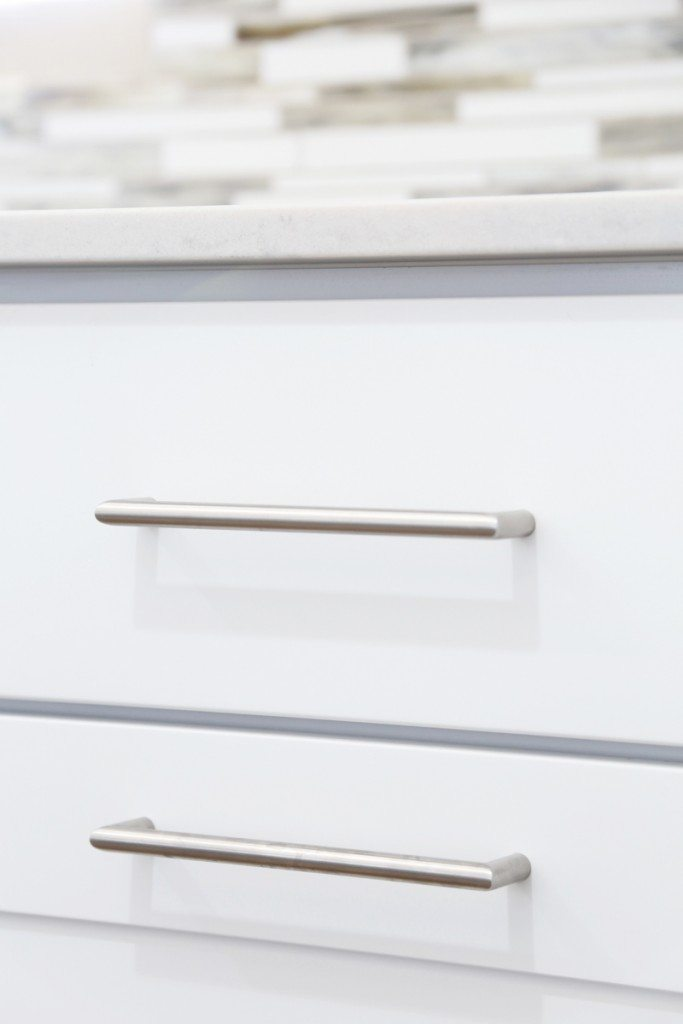 Love these straightline drawer pulls