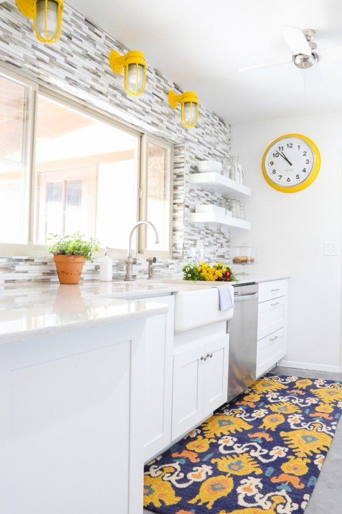 Bettijo's KraftMaid Kitchen is so bright -- love it!