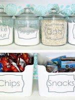 Jar and Bin Labels