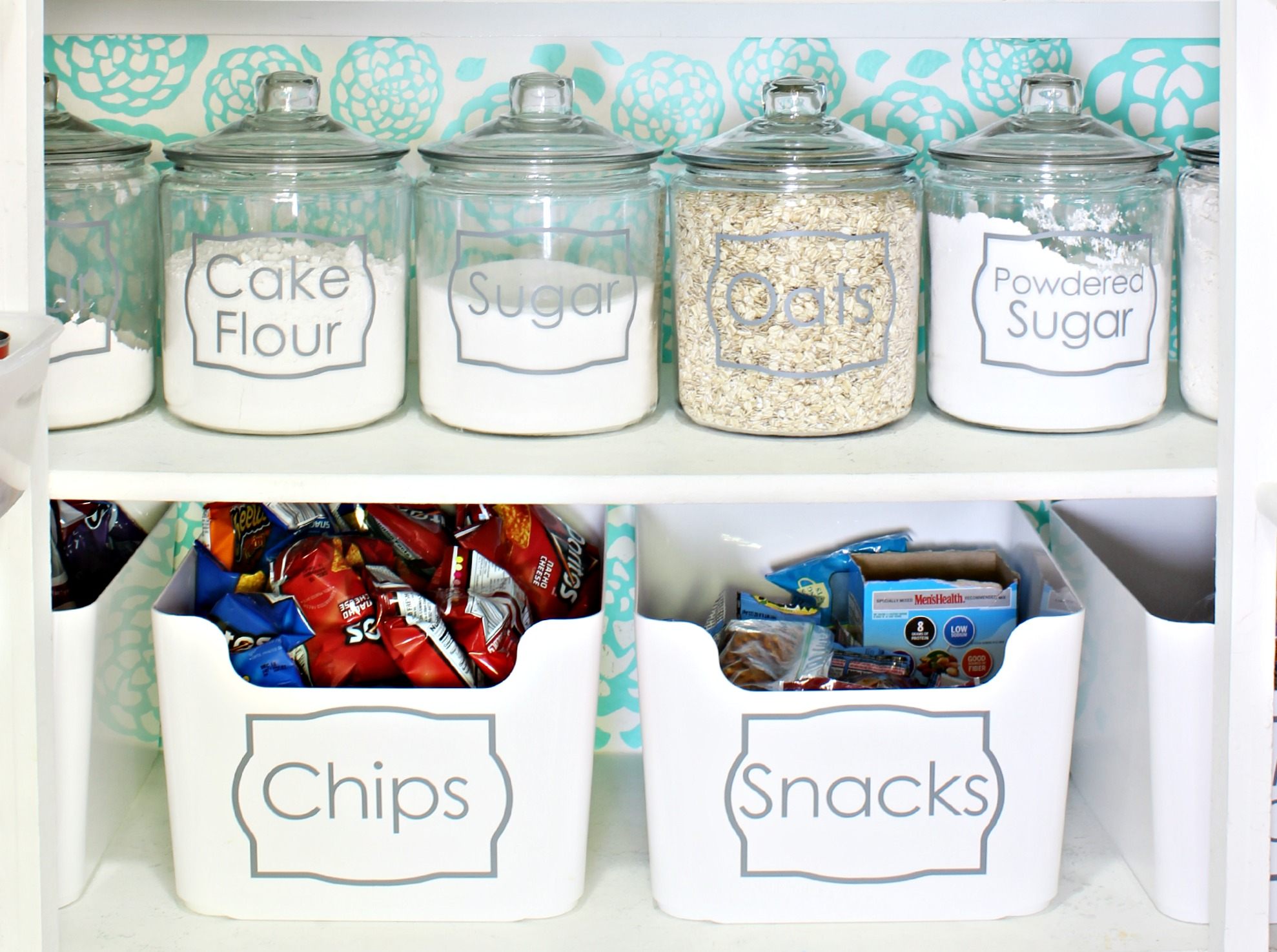 Pantry Jars and Labels
