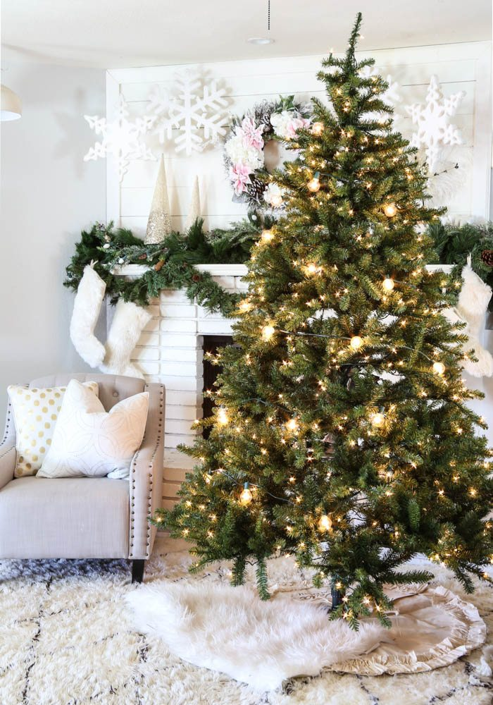 Pink and Gold Dream Christmas Tree-1