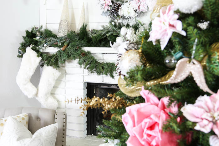 Pink and Gold Dream Christmas Tree-25