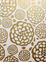 Floral Faux Wallpaper Vinyl