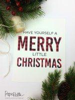 Christmas Buffalo Check Print