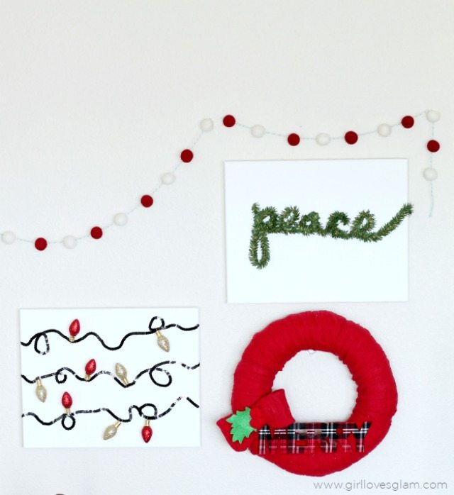Easy-Christmas-Canvas-Art
