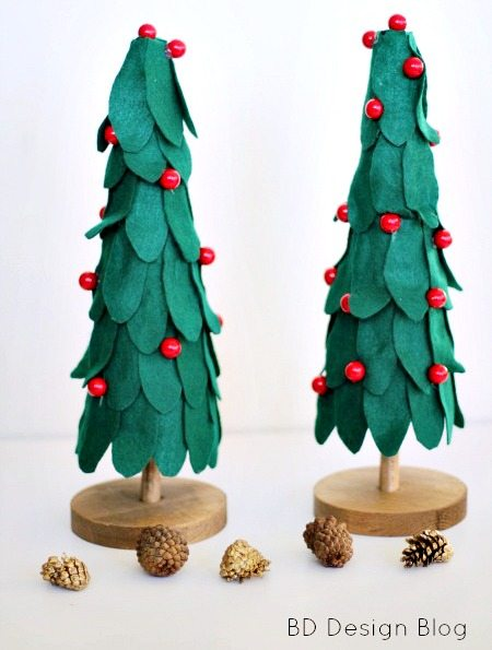 Felt Christmas Tree 4