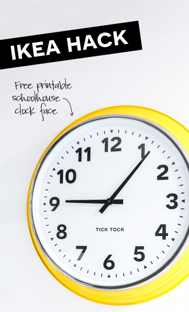 Ikea-Clock-Makeover
