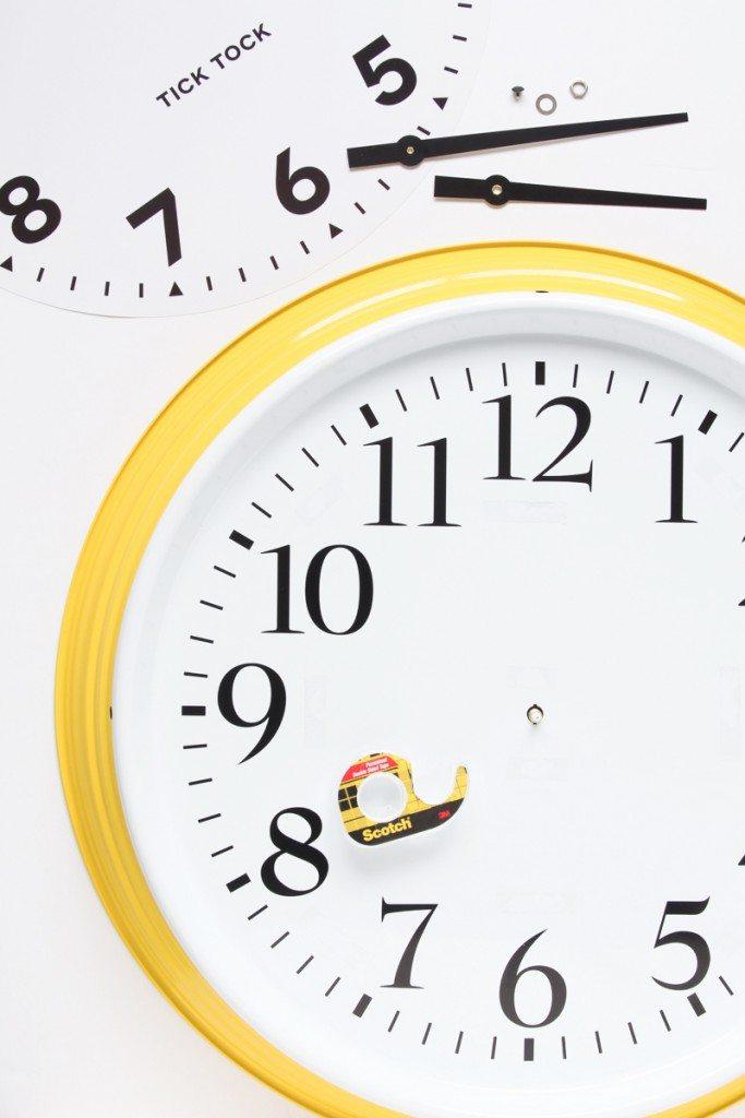 Ikea-Wall-Clock-Hack