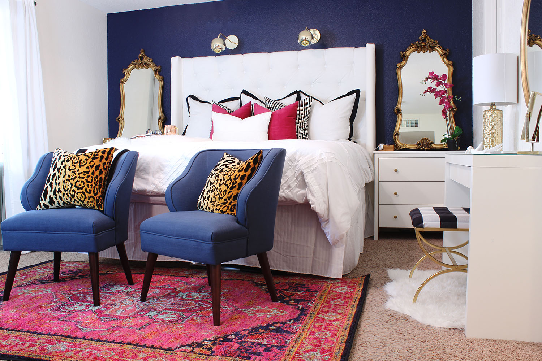 Master Bedroom Makeover - www.classyclutter.net