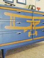 How to Stencil a design on Furniture