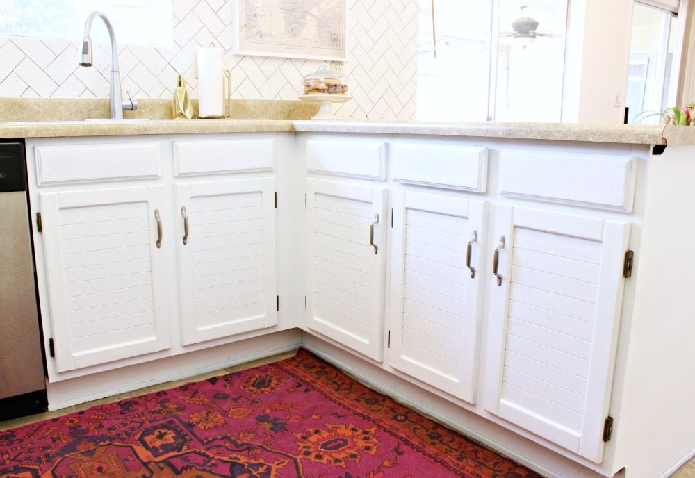 DIY Kitchen Makeover-Click for more!