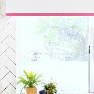 DIY Upholstered Window Valance - Click for tutorial!