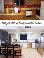 Kitchen Update for Under $400