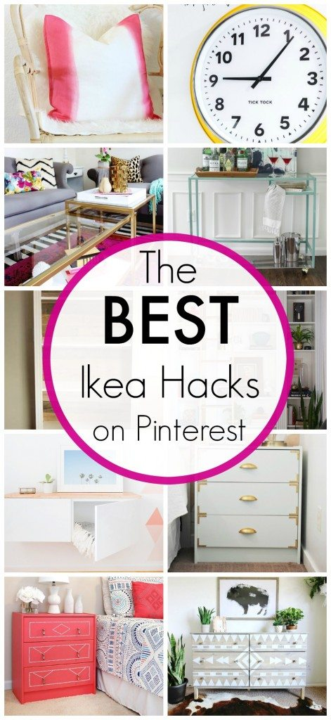 The Best Ikea Hacks On Pinterest Classy Clutter