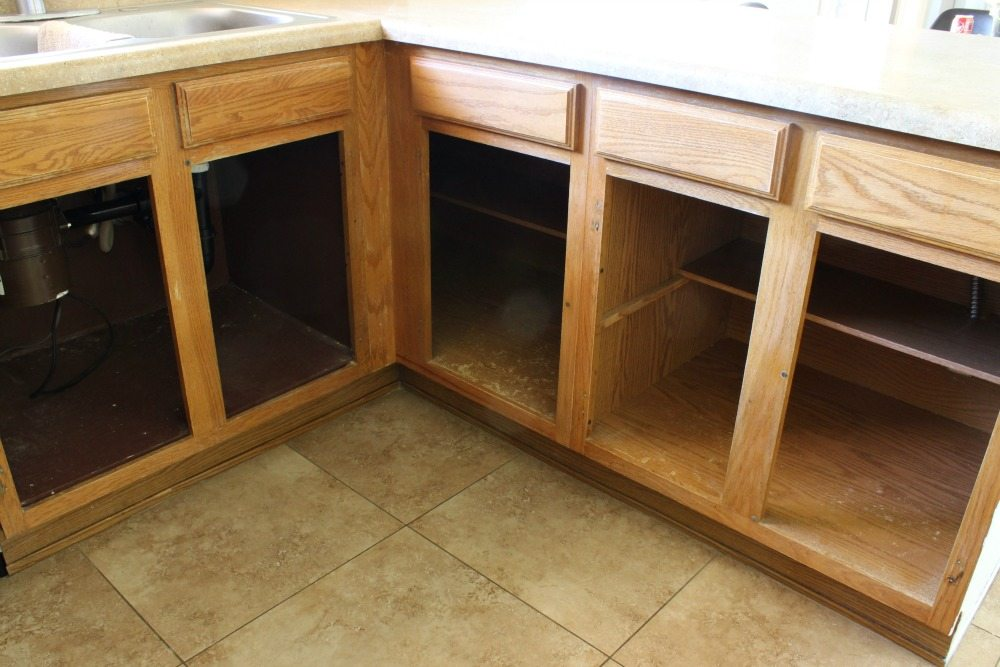 The BEST way to paint your cabinets - Click for tutorial!