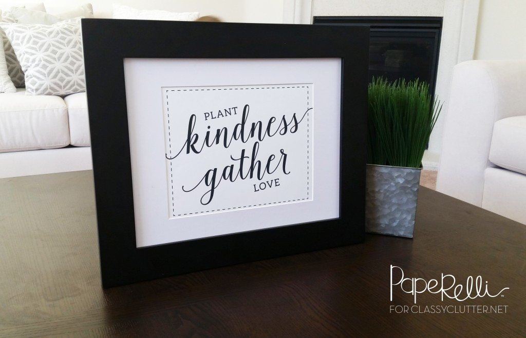 Kindness Printable - Spring Printable