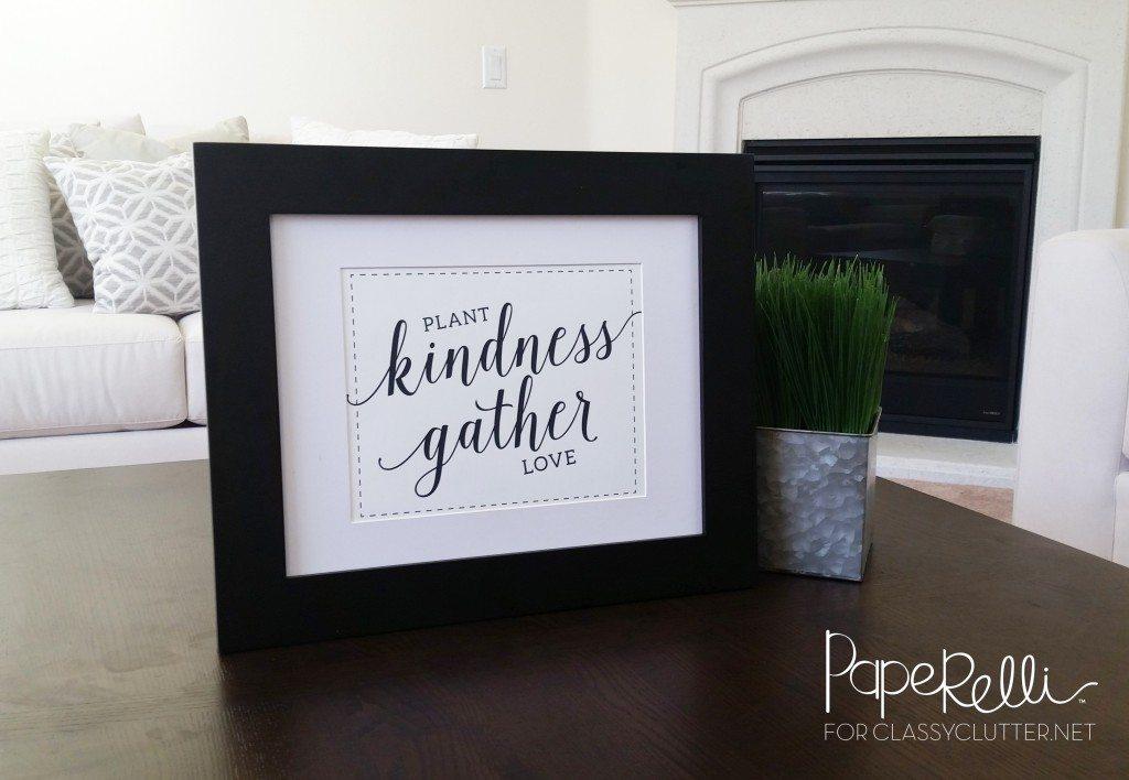 Kindness Printable - Spring Printable