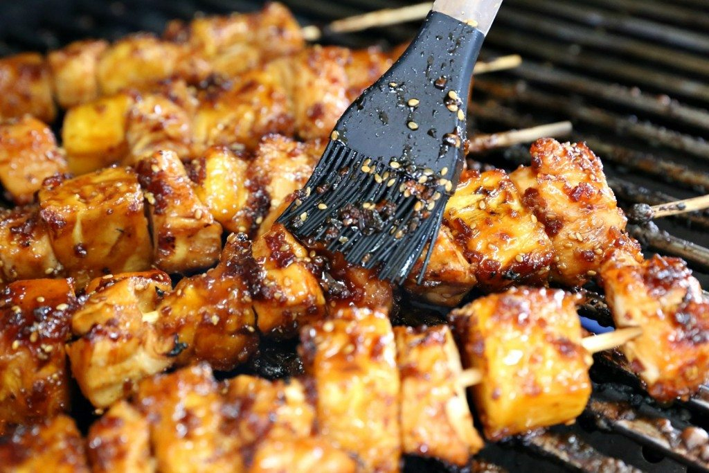 Teriyaki Chicken Skewers
