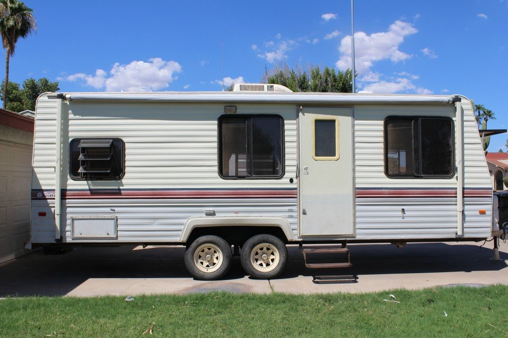 Awesome Some People Take Theres No Place Like Home A Step Further And Remodel Their RVs  United States Check Out Their Go RVing Posts And Blog Fiddy States Jenn, Brent, And Their Two Children Hit The Road In Their RV In October 2011