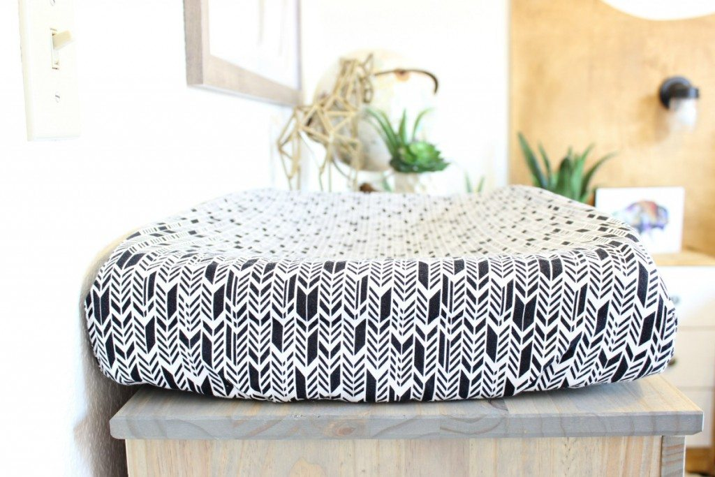 Tribal Inspired Bedroom Makeover - www.classyclutter.net