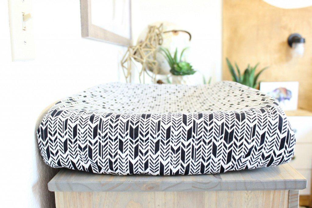 Tribal Inspired Bedroom Makeover - www.classyclutter.net