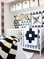 Tribal Inspired Bedroom Makeover
