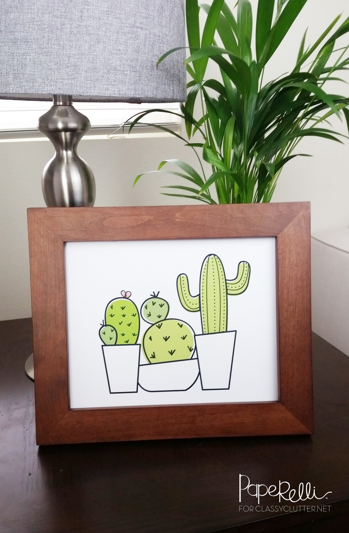 image regarding Cactus Printable called No cost Cactus Printable - Cly Muddle