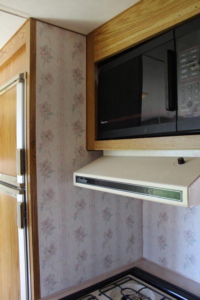 Travel Trailer Redo: How to paint a travel trailer - Classy Clutter