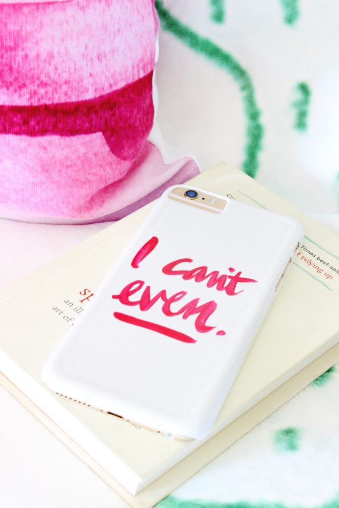 Love this I Can't Even phone case! OMG!