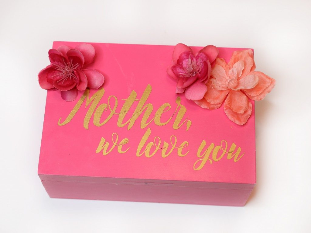 Mothers day letter box