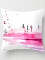 Cotton Candy Desert Pillow