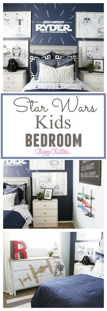 Star Wars Kids Bedroom - Classy Clutter