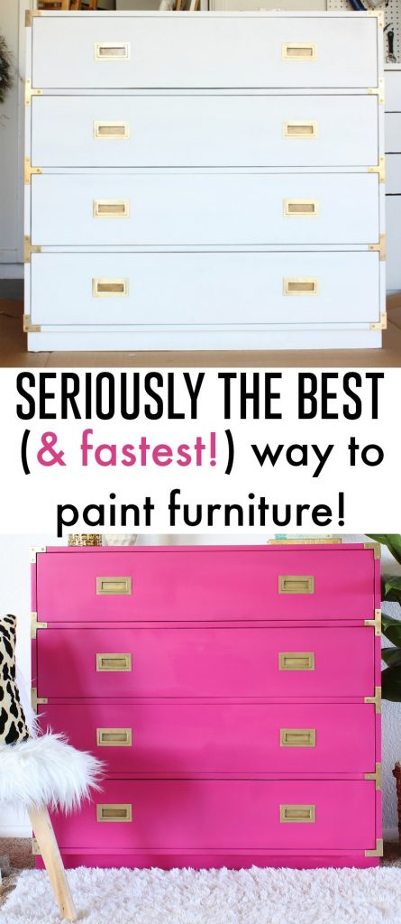The BEST way to paint furniture... fast!!! - Click for tutorial!