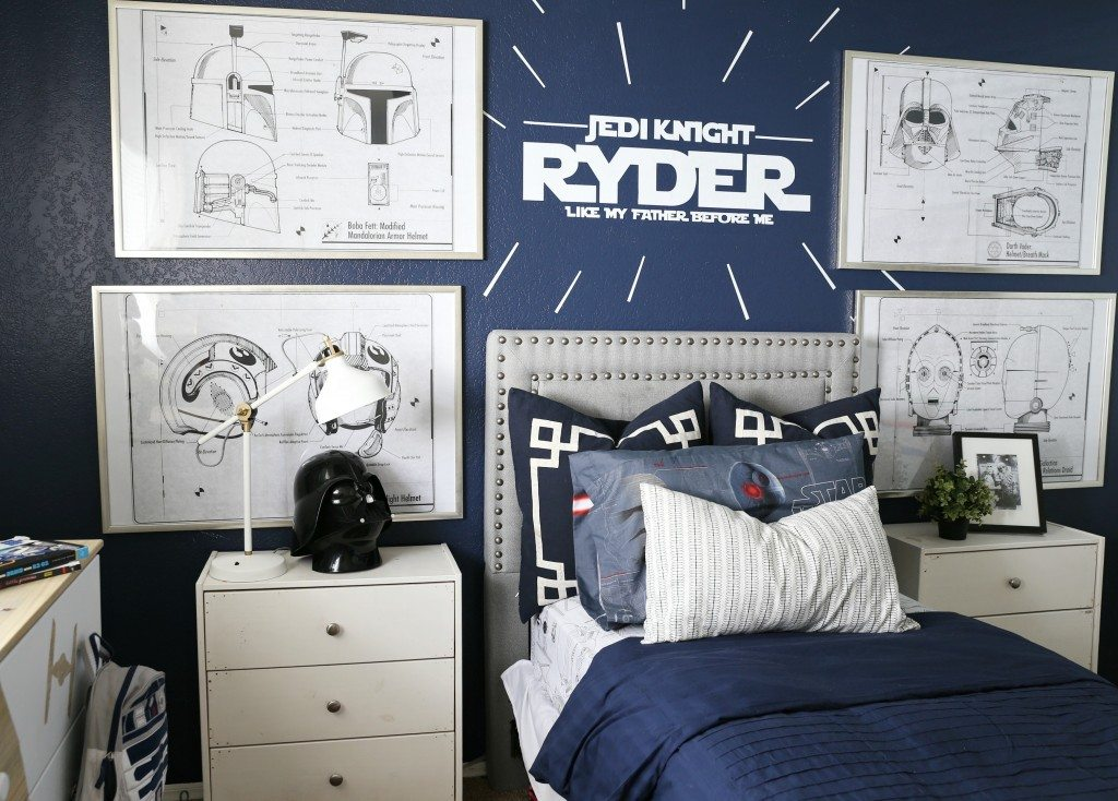 Star wars bedroom decor bedroom ideas for new house Star wars bedroom ideas