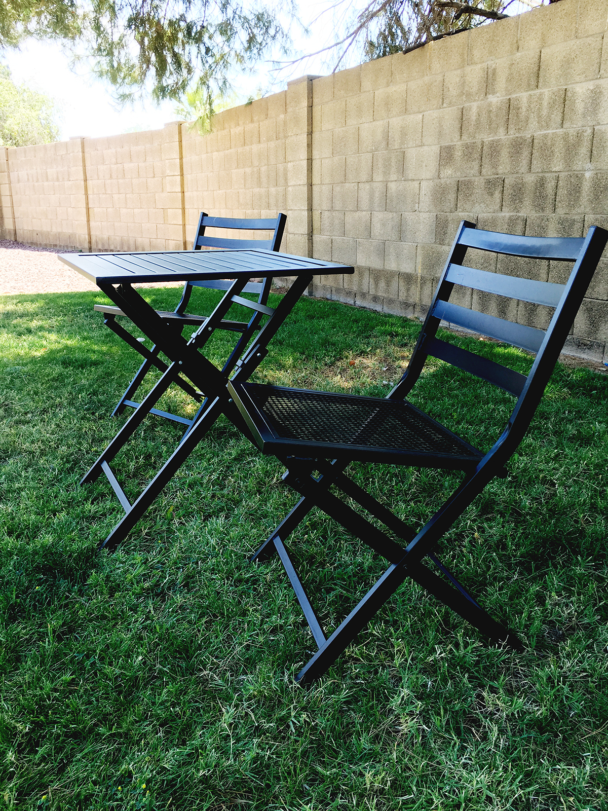 DIY Patio Set Makeover