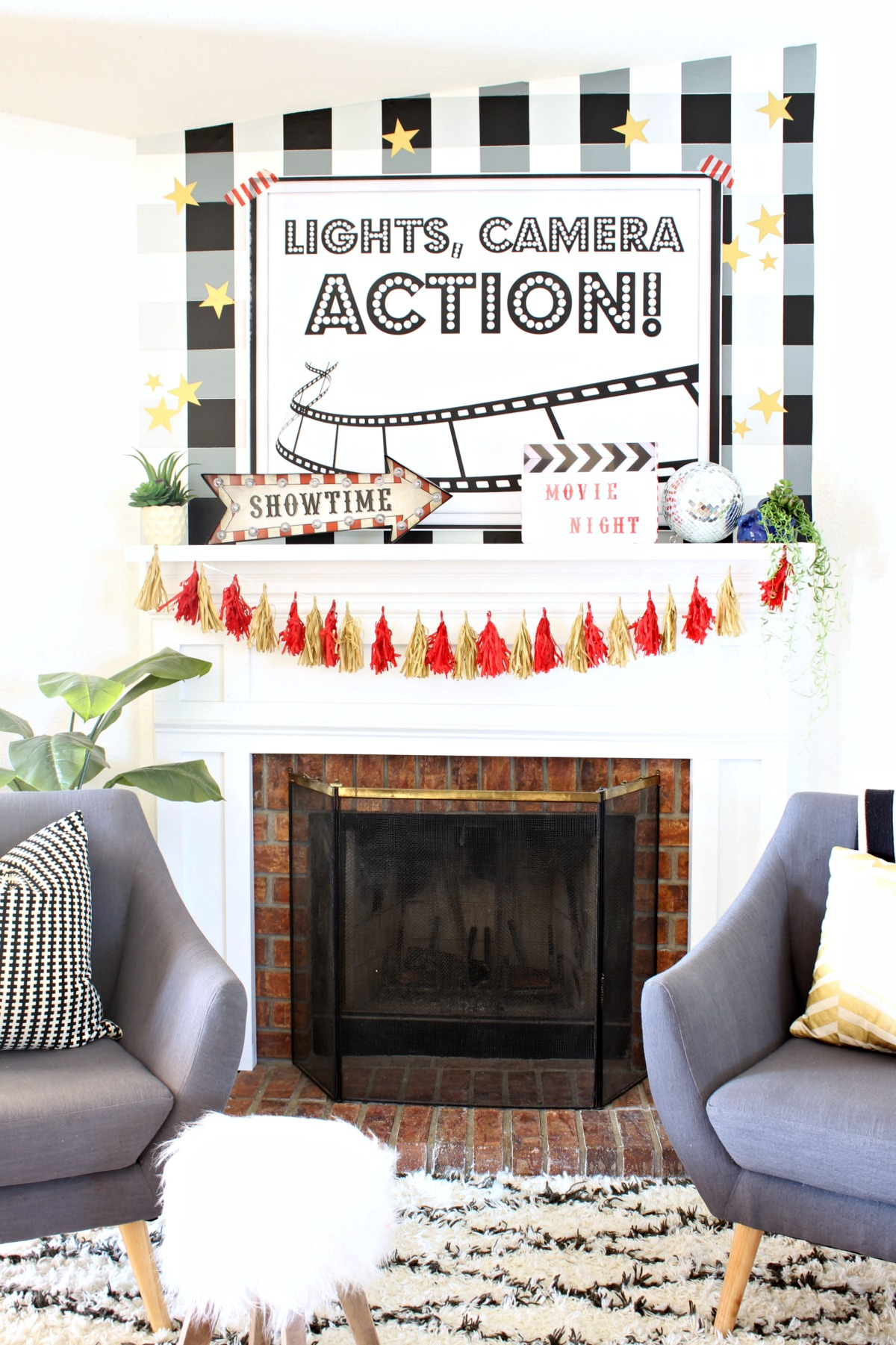 Movie Night Party - www.classyclutter.net