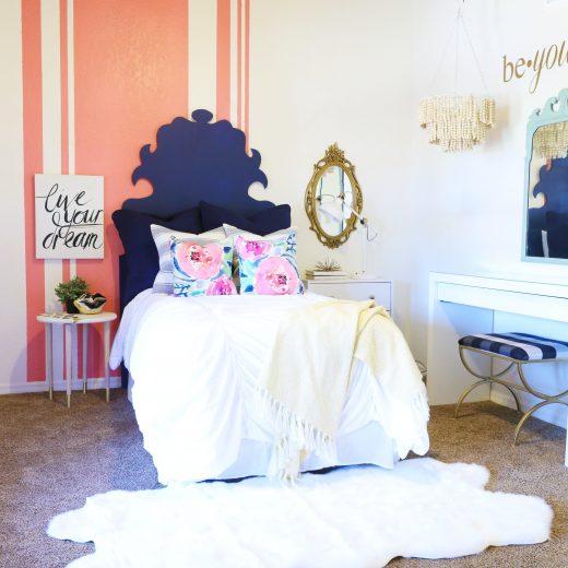 Eclectic Teen Girl's Room