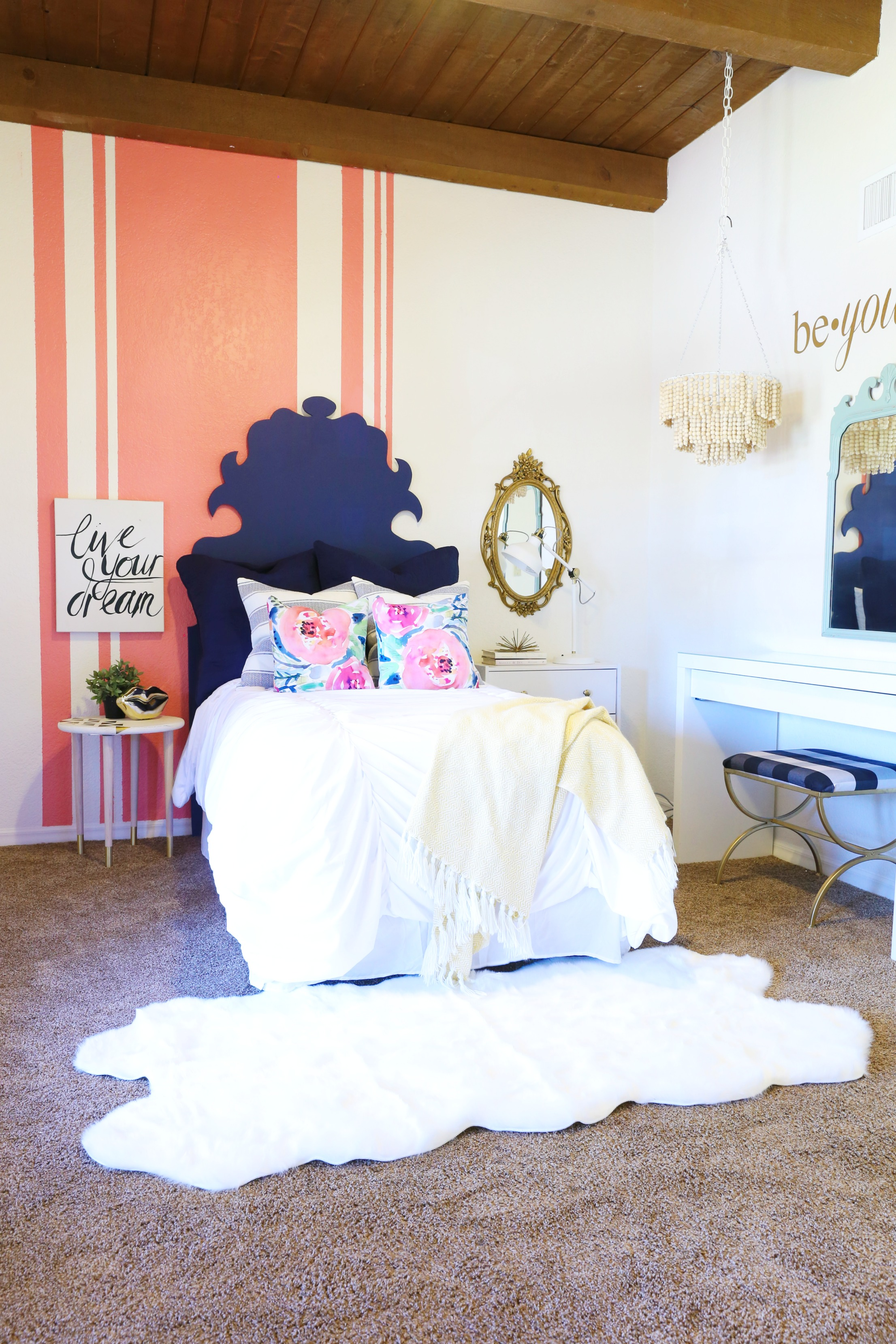 Eclectic Teen Girl's Room