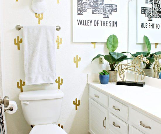 Kids Bathroom Makeover - www.classyclutter.net