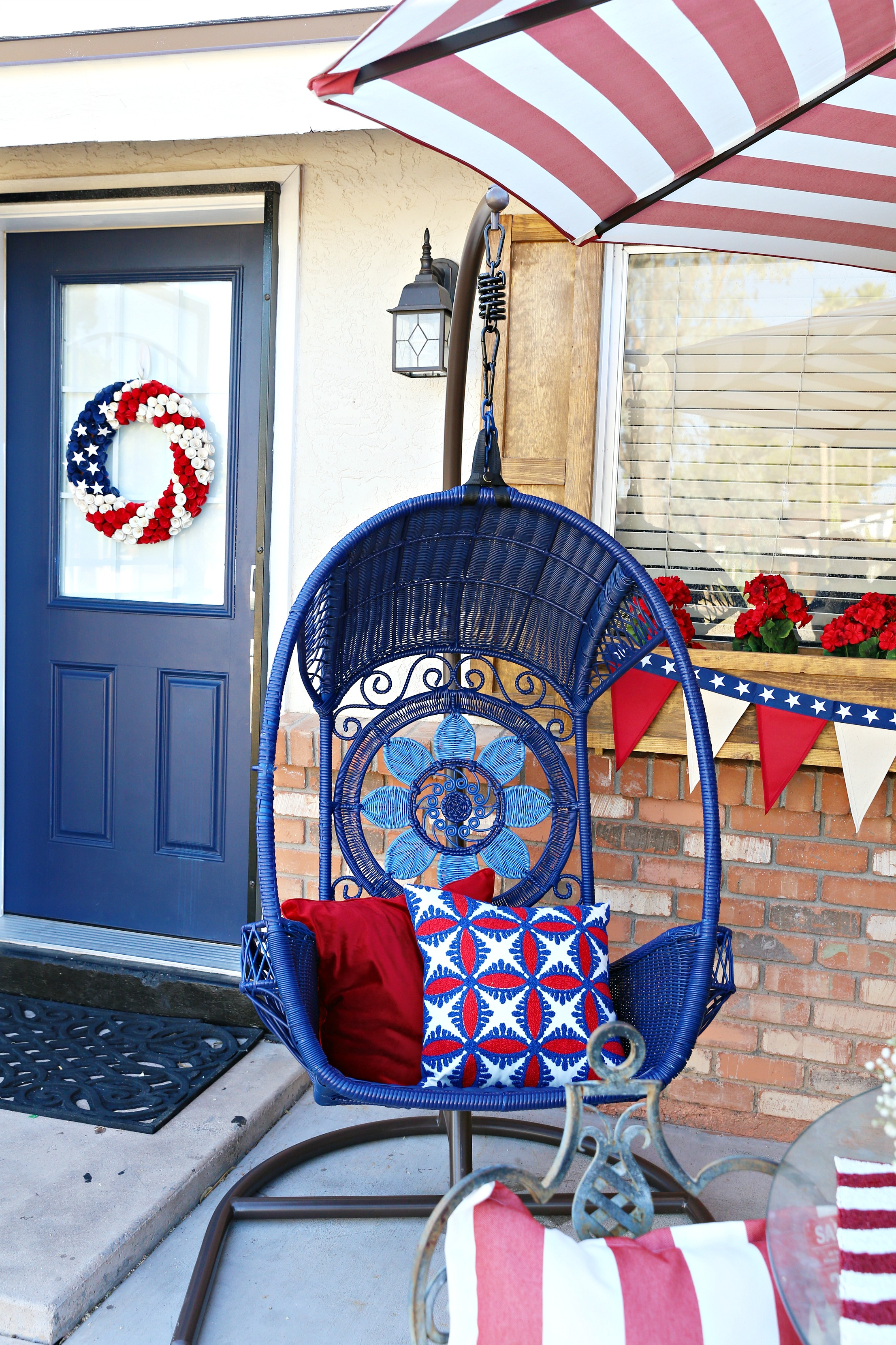 Pier 1 4th of July decor