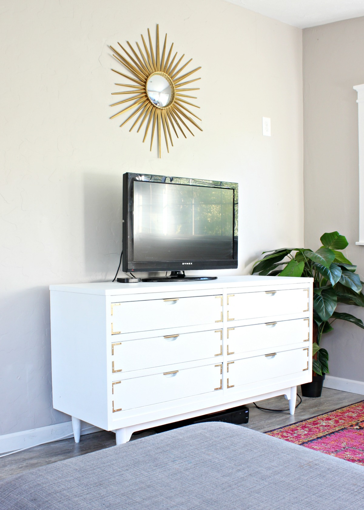 How To Paint A Dresser Inside The House