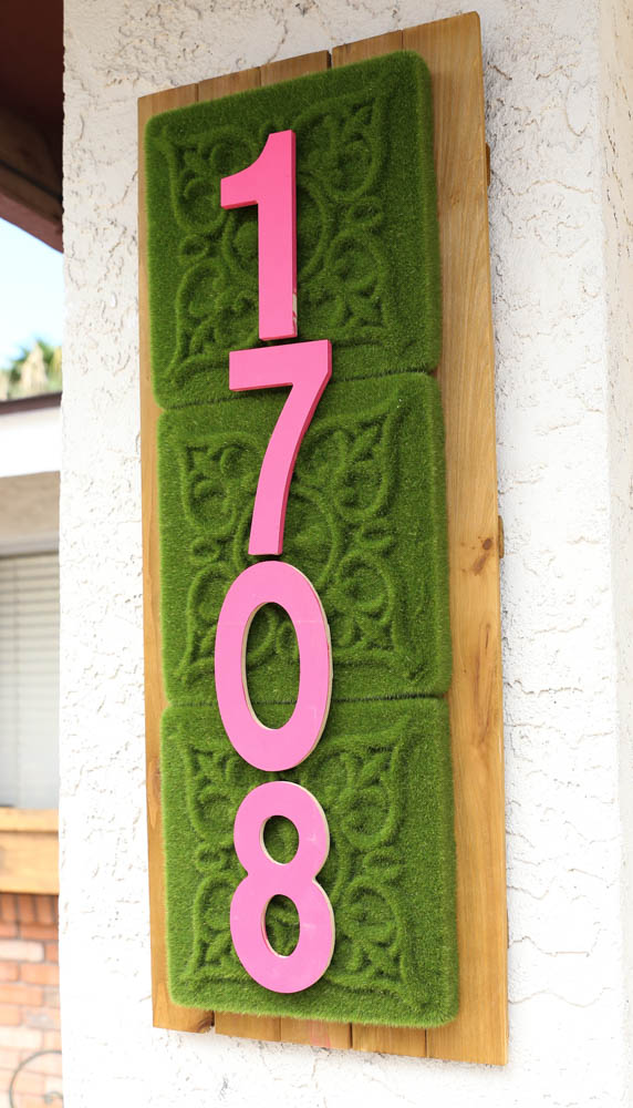 How to Make an address sign_-7
