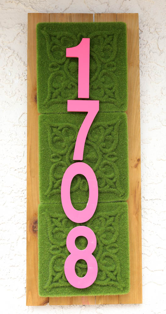 How to Make an address sign_-8