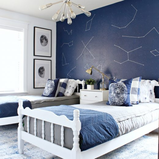 Boys' Space Room Makeover