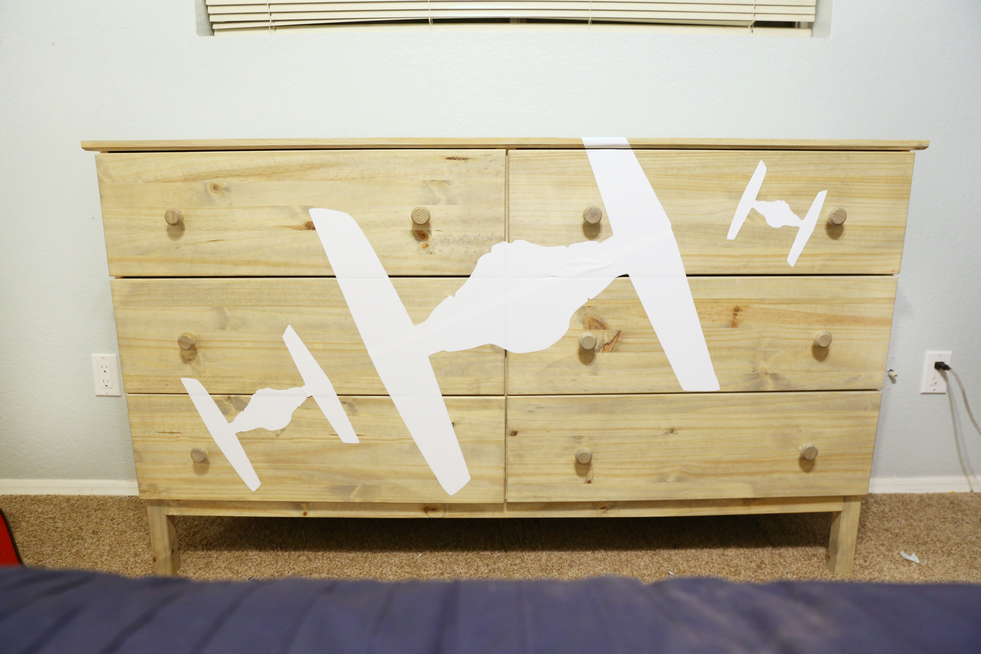 DIY Star Wars Dresser