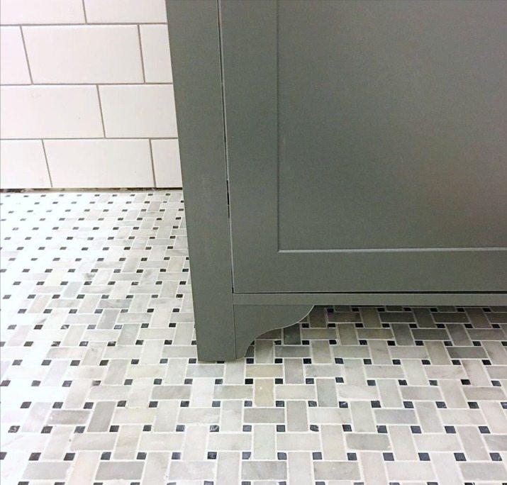 Sneak Peek Bathroom Makeover - www.classyclutter.net