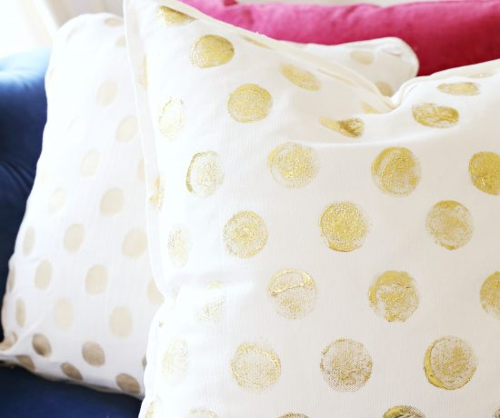 anthro-inspired-gold-foil-pillow