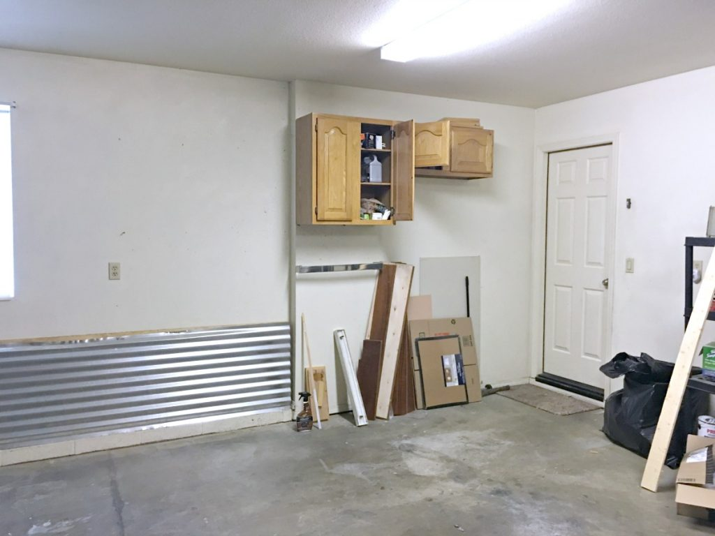 prescott view home reno: garage makeover progress and getting
